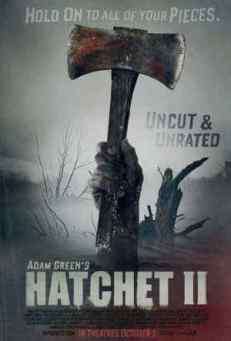 Hatchet 2 movie poster