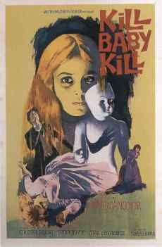 Kill Baby Kill movie poster