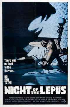 Night of the Lepus movie poster 3
