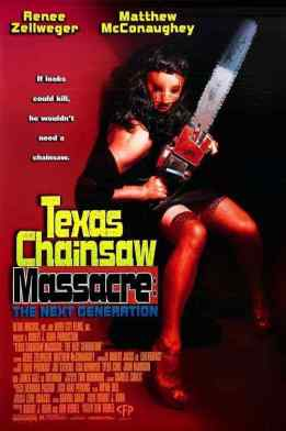 The Texas Chainsaw Massacre The Next Generation movie poster