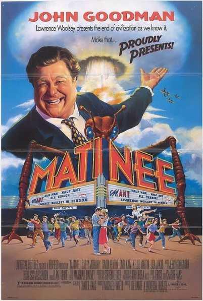 Matinee movie poster