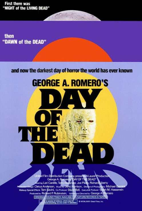 Day of the Dead movie poster