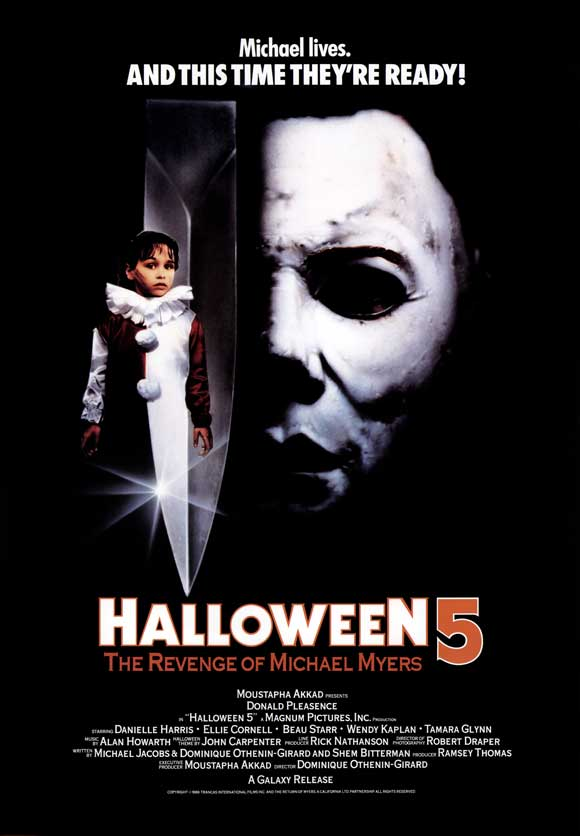 Halloween 5 movie poster