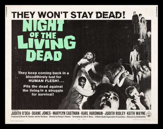 Night of the Living Dead quad