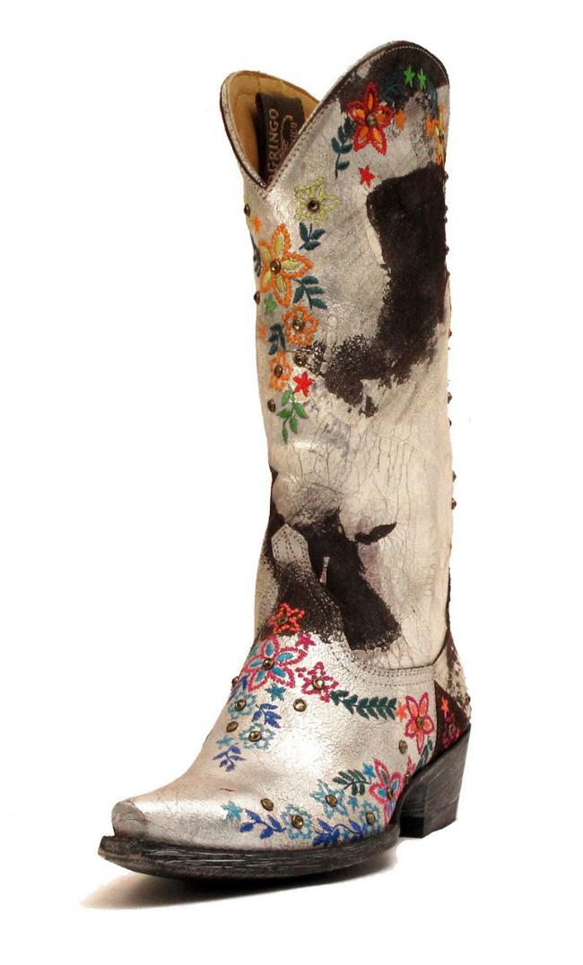old gringo floral boots