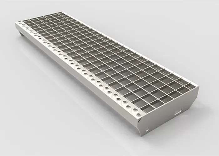 Structural Steel Stair Treads Grating With 30 40 60 Bar