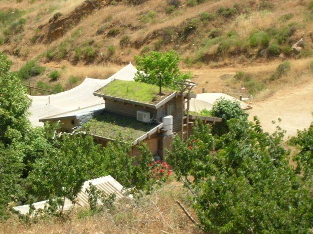 Eco בתים בנמרוד רמת הגולן