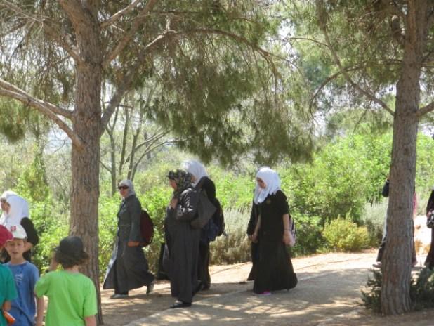 תלמידות מוסלמיות ברמת הנדיב