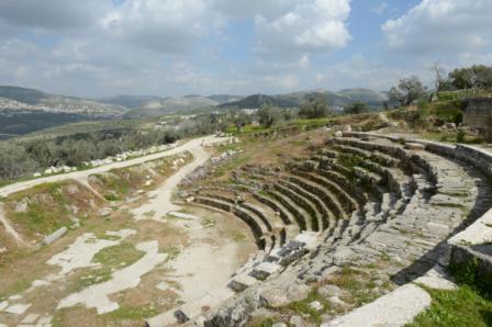 האמפיתיאטרון העתיק בסבסטיה צילום: שחר כהן
