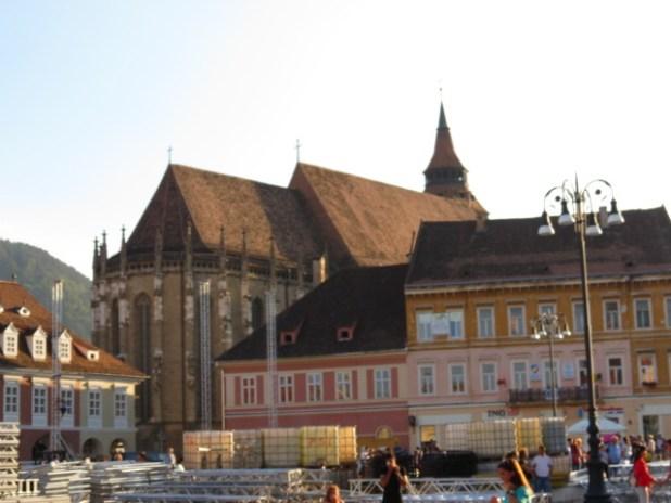 Black Church seen from Piata Sfatului