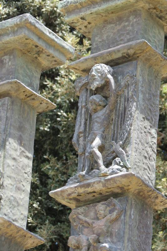 מנורת הכנסת - דוד וגלית