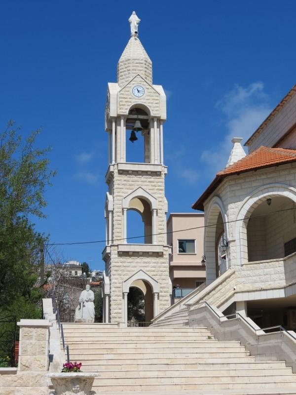 הכנסייה המארונית החדשה בג׳יש - צילום הושבילים