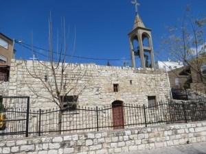 הכנסייה המארונית הישנה בג׳יש - צילום הושבילים