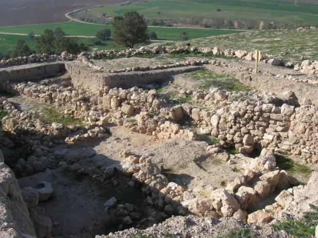 Tel Tzafit excavations צילום:Ori~
