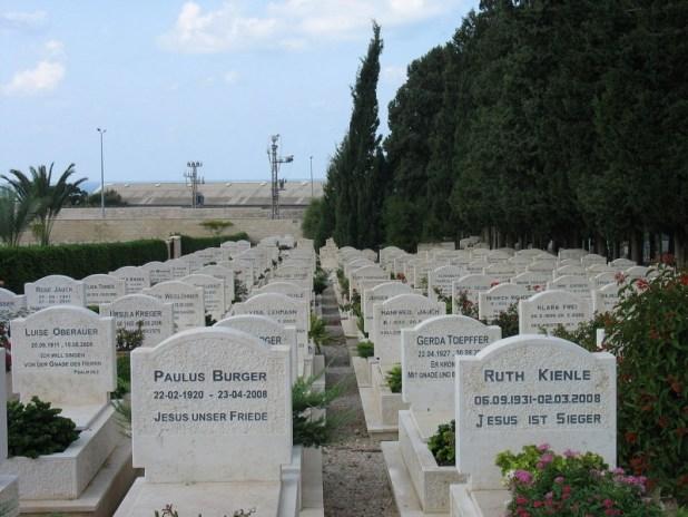חלקת קהילת בית אל בבית הקברות בחיפה צילום: Shannen doh