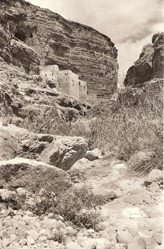 מנזר דיר ג'ריס, תמונה משנות ה-20 של המאה ה-20