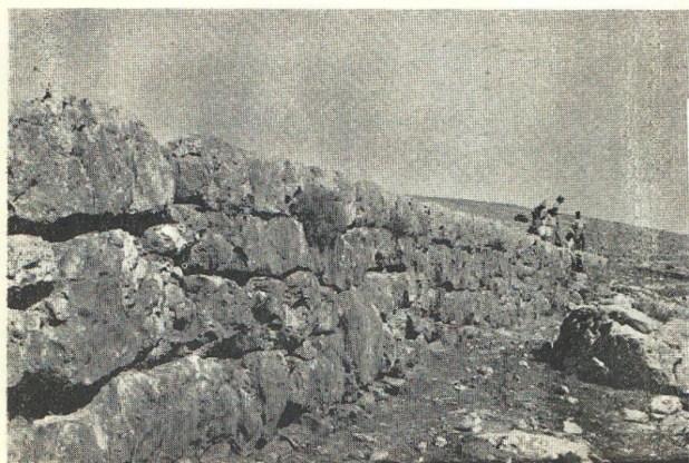 צילום ממתחם קַבּוּר בני אסרָאאיל, 1950