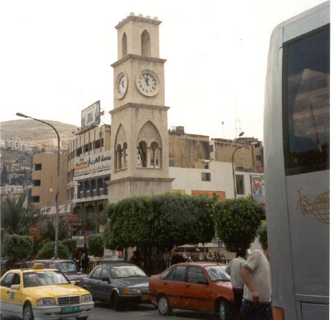 מגדל שעון מימי השלטון העות'מאני בשכם