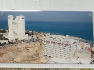 מגדל סמי עופר (מצגת קיר של בי״ח רמבם)