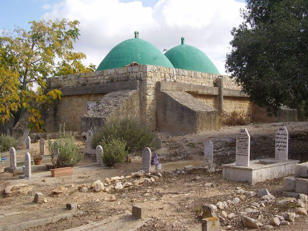 "קבר שייח' אבו אל-היג'א צילום: ד""ר אבישי טייכר"