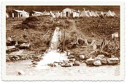 1921-1925 Ein Harod Tents