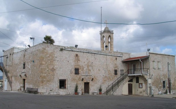 Greek catholic church, Mi'ilya, Israel כנסיית הבשורה במעיליא צילום: Bukvoed