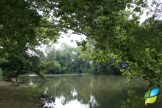 Beautiful view of one of the ponds on the campus of Hospice of Dayton