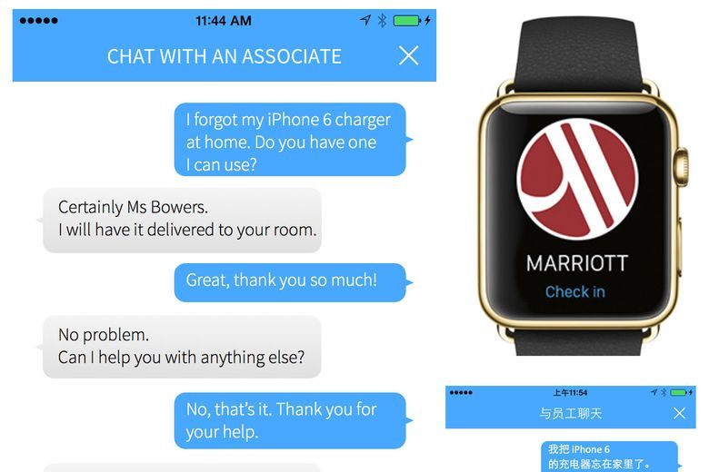 Marriott\u0027s Mobile Requests Expands Globally, Adds Four More Brands