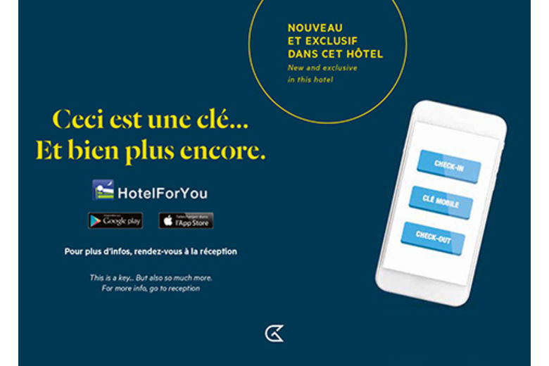 Louvre Hotels Group is the 1st hotel group to enable its clients to