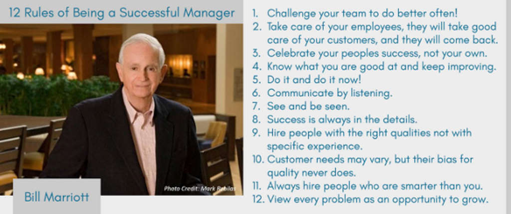 12 Rules of Being a Successful Manager By Jana Love \u2013 Hospitality Net
