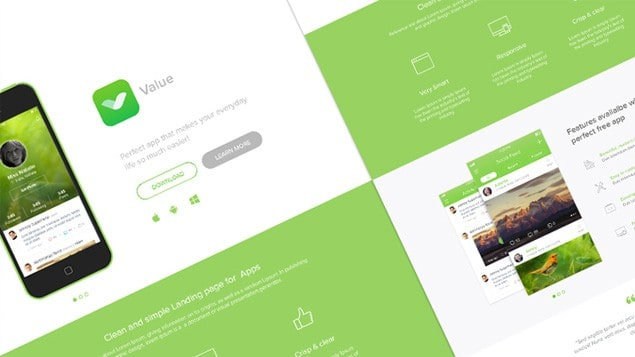 10 Must-Have Free PSD Landing Page Templates