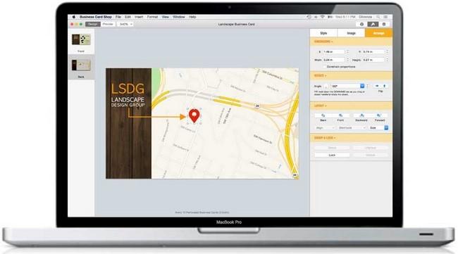 Chronos Business Card Shop.v7.0.3 (Mac OSX)