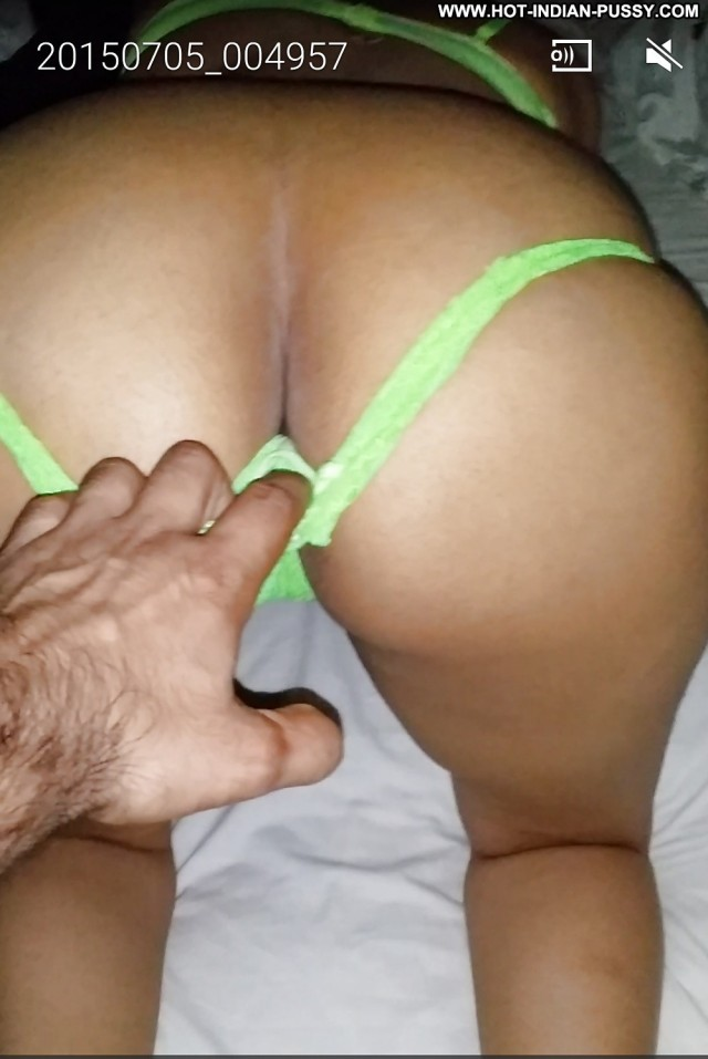 Indian girl thong and pussy are