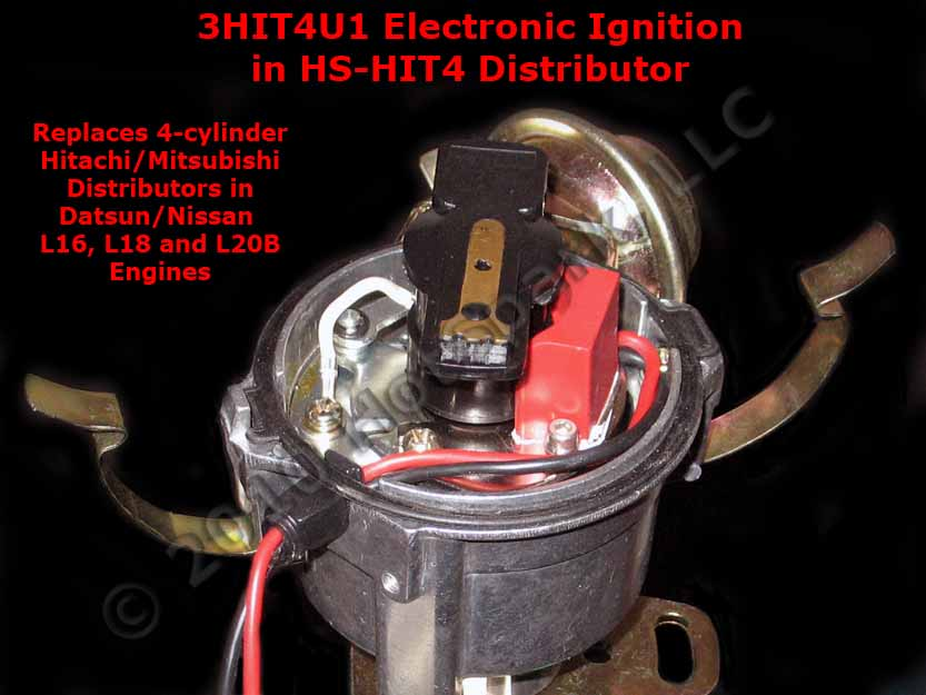 New HS-HIT4 Replacement Electronic Distributor for Vehicles with