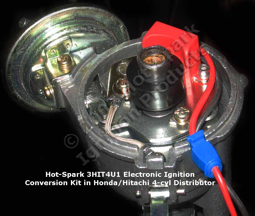 Hot-Spark Electronic Ignition Conversion Kits for 4-cylinder and 6