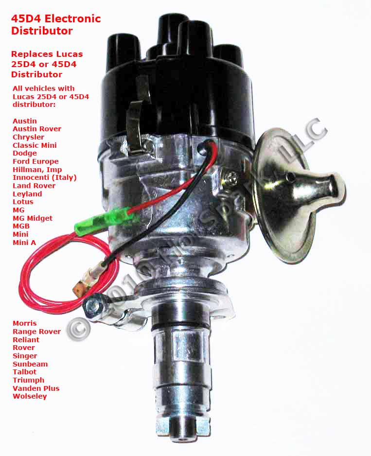 Chrysler Electronic Ignition Coil Wiring Electrical Circuit