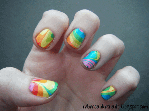12 Marble Nail Art Designs Worth Copying Hot Beauty Health