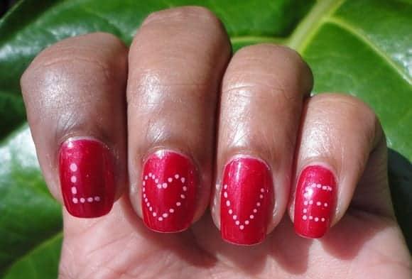 16 Killer Valentine39s Day Nail Art Ideas