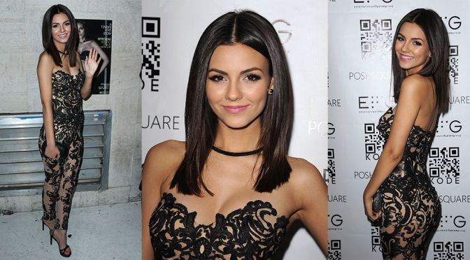 Victoria Justice – Kode Magazine Spring Issue Release Party