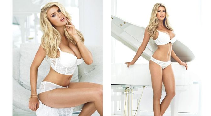 "Charlotte McKinney – ""Guess"" Lingerie Photoshoot"