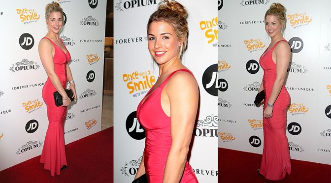 "Gemma Atkinson – ""Once Upon A Smile"" Charity Ball in Manchester"