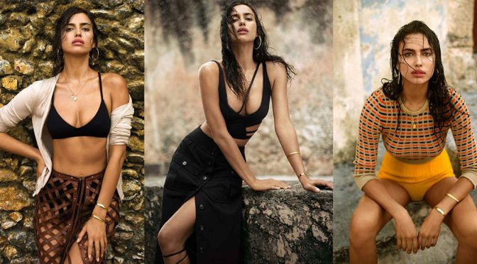 Irina Shayk – Telegraph Magazine Photoshoot