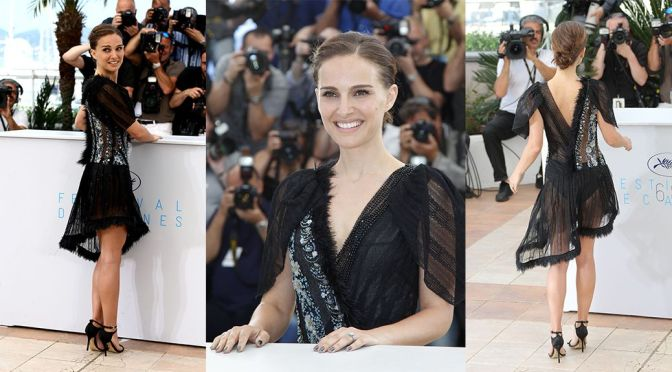 "Natalie Portman – ""A Tale of Love and Darkness"" Photocall in Cannes"