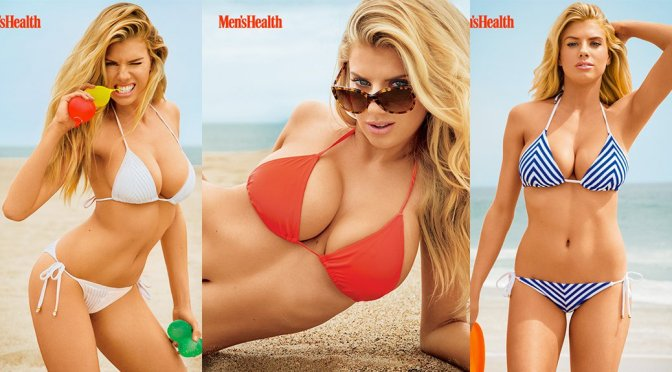 Charlotte McKinney – Men's Health Magazine Bikini Photoshoot