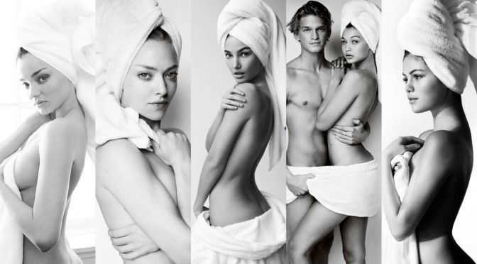 Various Celebs – Mario Testino Towel Series Photoshoot