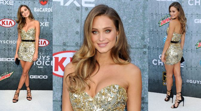 Hannah Davis – Spike TV's Guys Choice Awards in Culver City
