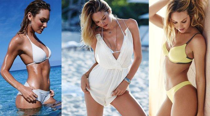 Candice Swanepoel – Victoria's Secret Bikini & Lingerie Photoshoot