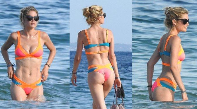 Doutzen Kroes – Bikini Candids in Ibiza