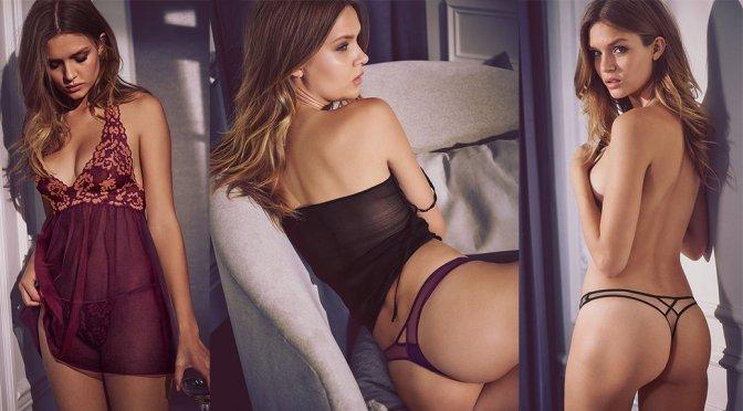 Josephine Skriver – Victoria's Secret Bikini & Lingerie Photoshoot
