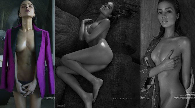 Olivia Culpo – Treats Magazine Topless Photoshoot (Issue #9) (NSFW)